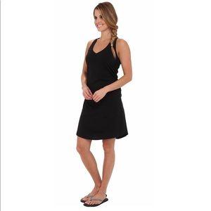 Patagonia Kamala Twist dress black sleeveless